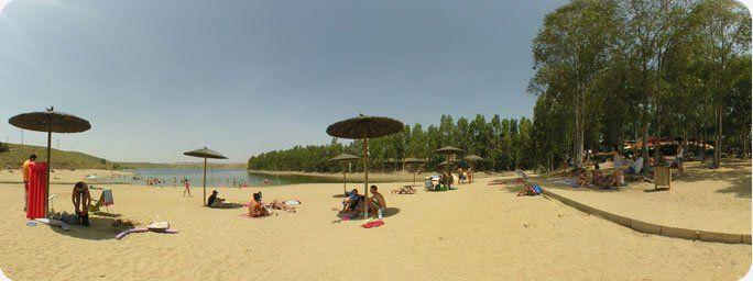 Playa embalse del Zújar