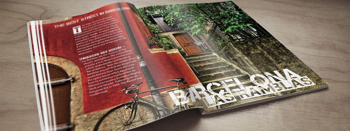 Edición de Revistas y Material Promocional