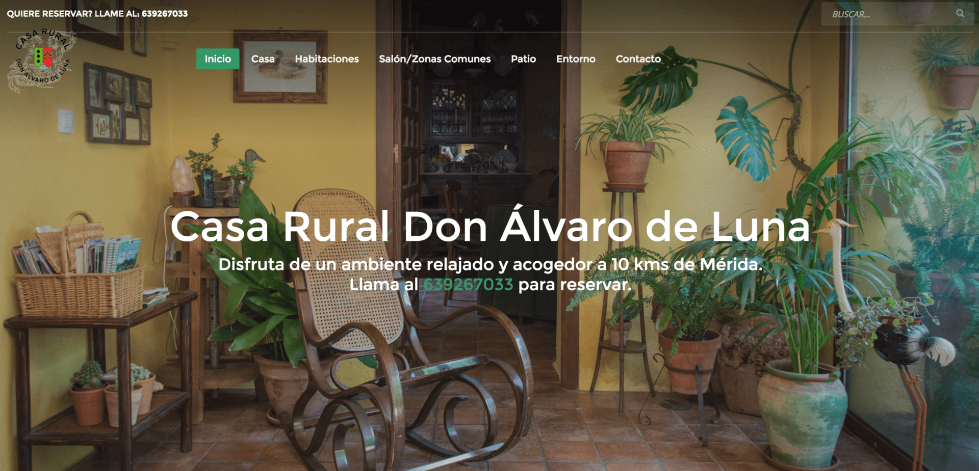 Alojamientos rurales que apuestan por renovar su web